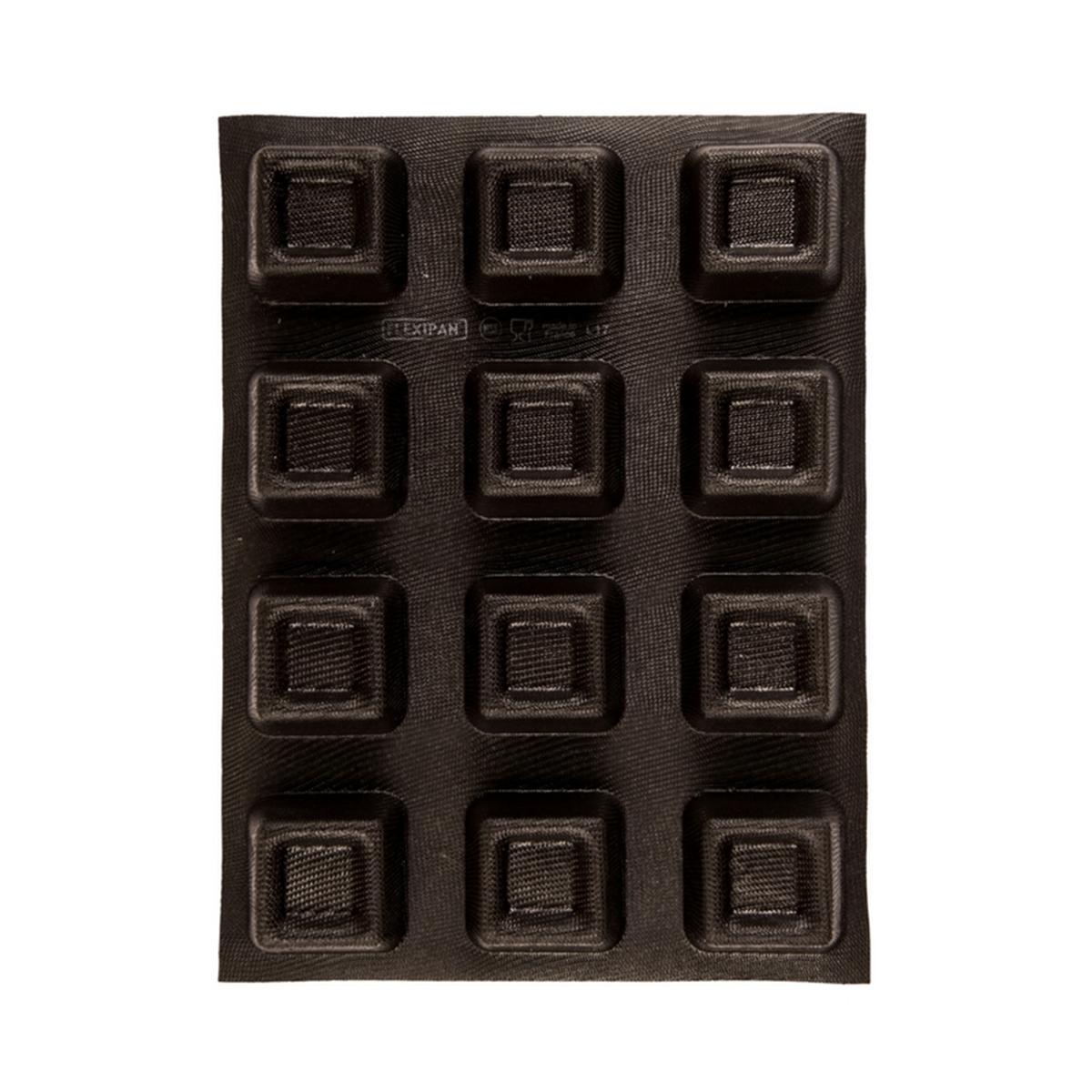 Picture of  SQUARE SAVARIN TRAY (12) FLEXIPAN®