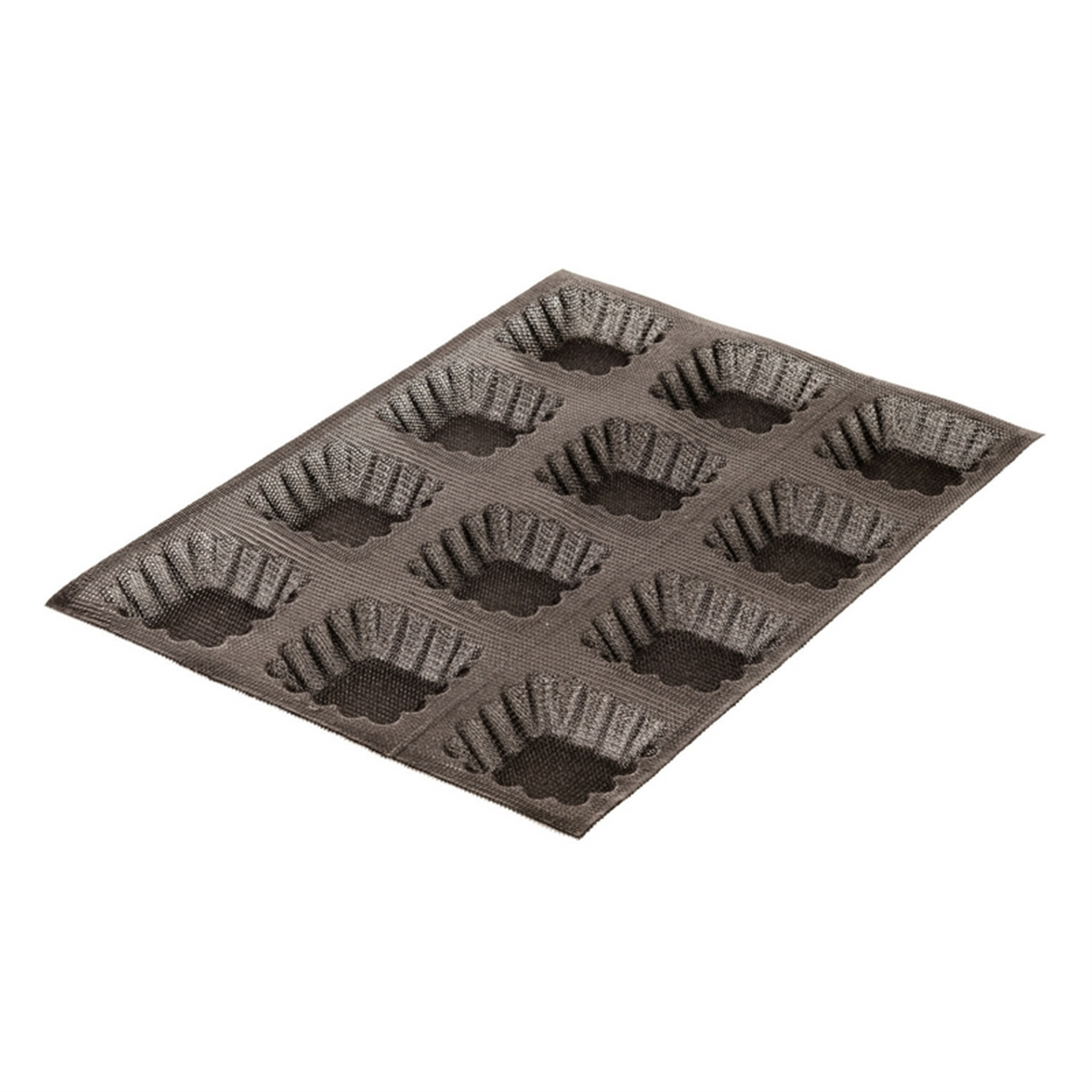 Bon Cook Silform 174 Fluted Square Tray 12