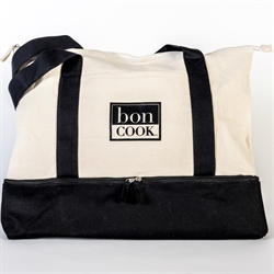 Picture of bon  COOK Branded Logo Canvas Tote Bag