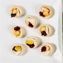 Picture of Brie Pear Cranberry Chutney Tartlet