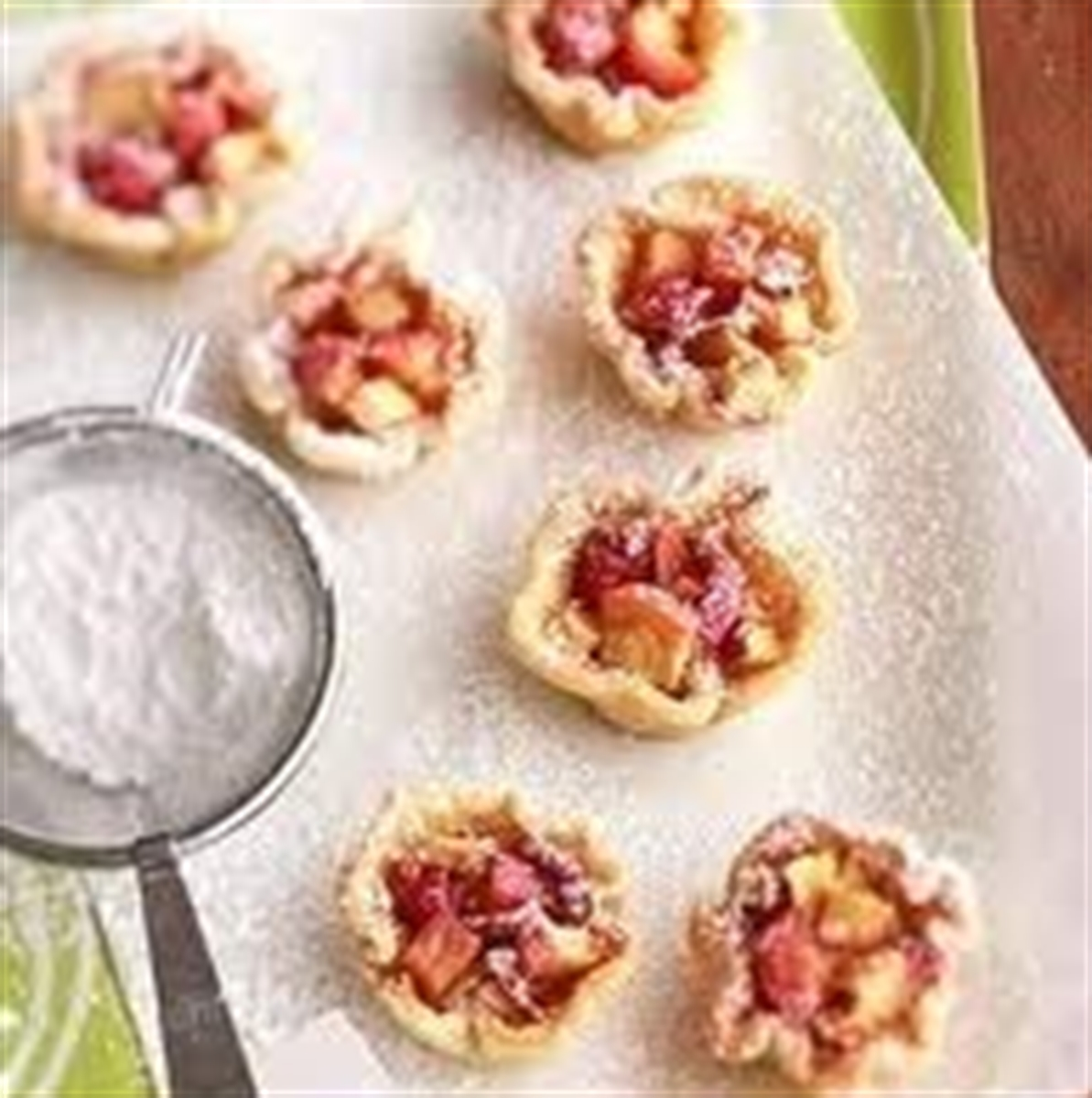 Picture of Apple, Onion and Goat Cheese Tartlets