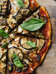 Picture of Eggplant Pizza