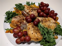 Picture of Chicken with Acorn Squash and Roasted Grapes