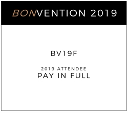 Picture of bonvention 2019 - Full Payment