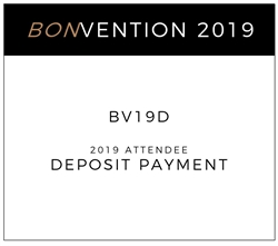 Picture of bonvention 2019 - Deposit Payment